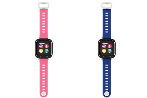 verizon gizmowatch pink blue